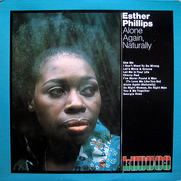 1972 エスター・フィリップス(Esther Phillips)- Alone Again Naturally