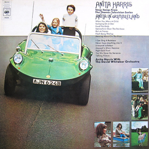 ⑤Anita Harris, The David Whitaker Orchestra* - Anita Harris Sings Songs From The Thames Television Series Anita In Jumbleland ‎(LP)