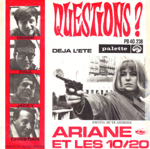 "⑧Questions? / Deja L'Été ‎(7"", Single)"