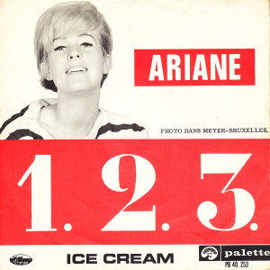 "⑨1. 2. 3. / Ice Cream ‎(7"", Single)"