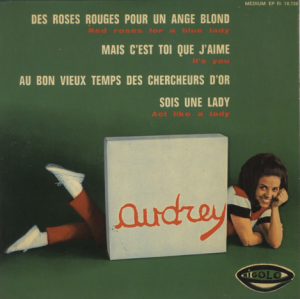 "Des Roses Rouges Pour Un Ange Blond (Red Roses For A Blue Lady) ‎(7"", EP)"