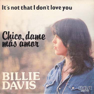 Chico, Dame Mas Amor / It's Not That I Don't Love You