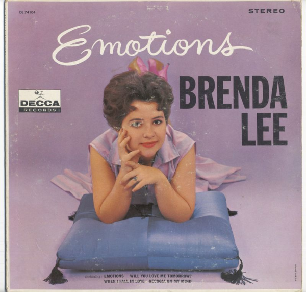 1961 ブレンダ・リー(Brenda Lee)  – Emotions