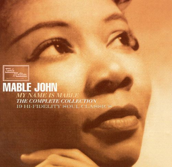 1960~1963 メイブル・ジョン(Mable John)- My Name Is Mable:The Complete Collection