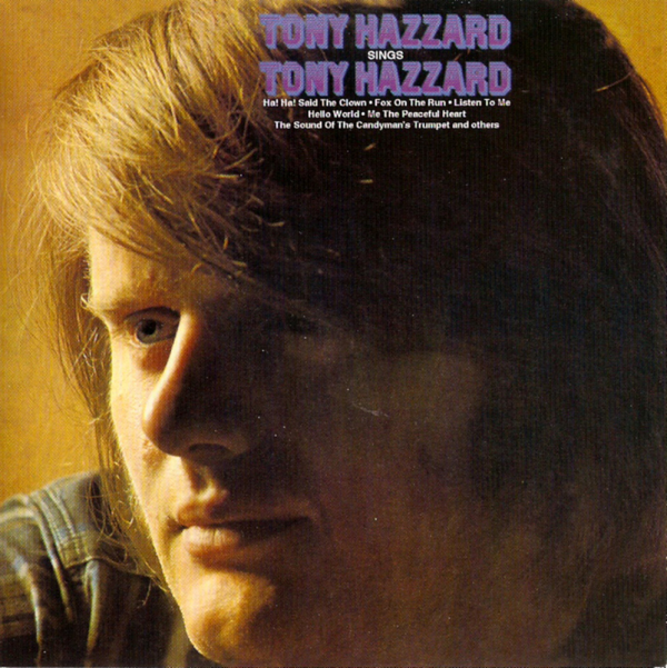 1969 トニー・ハザード(Tony Hazzard)- Tony Hazzard Sings